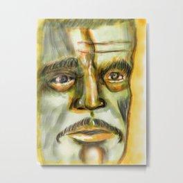Karloff Metal Print