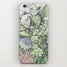 Flowerbed iPhone & iPod Skin