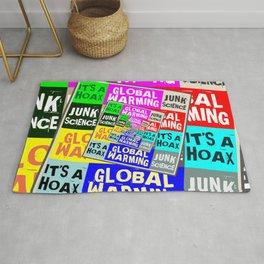 Global Warming Hoax Rug