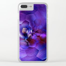 ultra violet snk 1 Clear iPhone Case