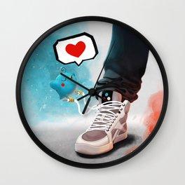 sneaker Love Wall Clock