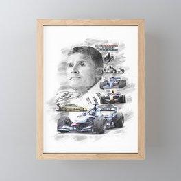 David Coulthard Framed Mini Art Print