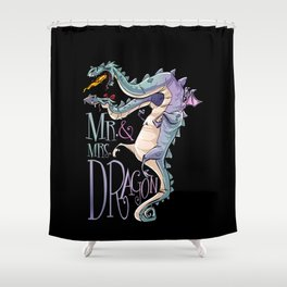 DRGN Shower Curtain