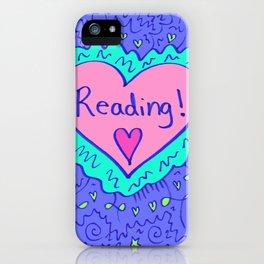 Reading! iPhone Case