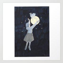 A Dream that I See You Again Art Print