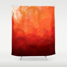 Sunset Globes Shower Curtain
