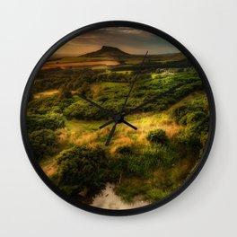 Natures Mirror Wall Clock