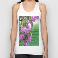 poem Tank Tops featuring Mother's Day Poem  by Frankie Cat