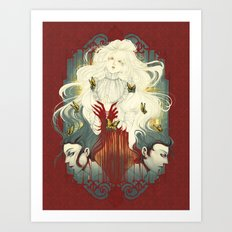 Crimson Peak Art Print