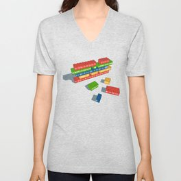 Playing With Music Unisex V-Neck