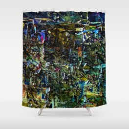 Abstract Vision II Shower Curtain