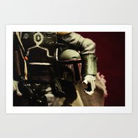 notorious Art Prints featuring Notorious by Gareth Payne