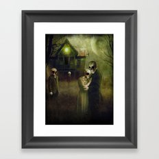 When the Dead Come Home Framed Art Print
