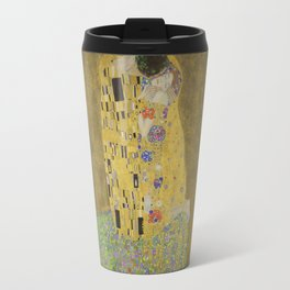 The Kiss - Gustav Klimt Travel Mug