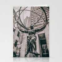 atlas Stationery Cards featuring Atlas by JAY'S PICTURES
