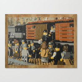 Deportation from Warsaw to Treblinka, July 22, 1942 Canvas Print