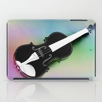 violin iPad Cases featuring Violin by Christine baessler