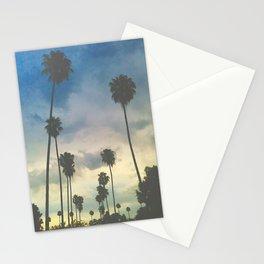 'Clouded Palms_Pastel-ized' Stationery Cards