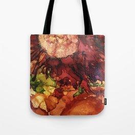 Brillant Flower Tote Bag