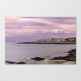 pigeon cove sunset Canvas Print