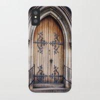 doors iPhone & iPod Cases featuring Doors by JMcCool