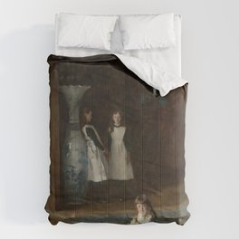 The Daughters of Edward Darley Boit by John Singer Sargent (1882) Comforters