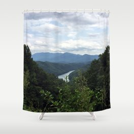 Great Smokey Mountains National Park Shower Curtain