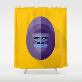 Gorilla gorilla Shower Curtain