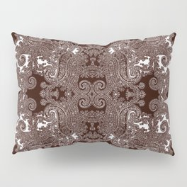 paisley vine Pillow Sham