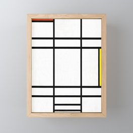 Piet Mondrian - Composition in White, Red, and Yellow Framed Mini Art Print