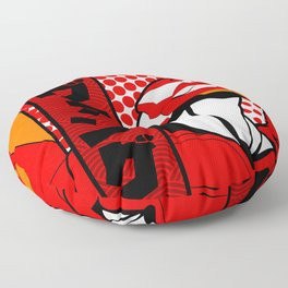 Eva 02 Evangelion Floor Pillow