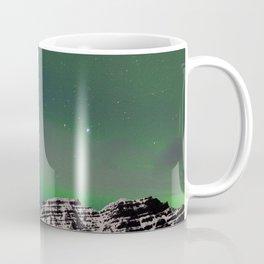 Northern Lights, East Fjords, Iceland Coffee Mug