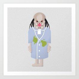 Regan / Predator Art Print