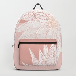 Earthy Tones Dahlia Fill Backpack