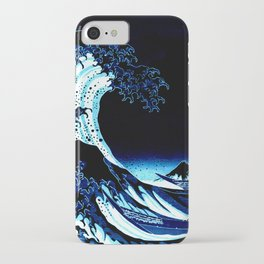 the Great Wave blue iPhone Case