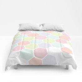 Pastel Buzz Comforters