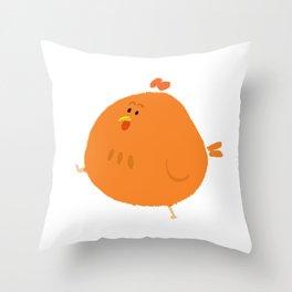 Chicken! Throw Pillow