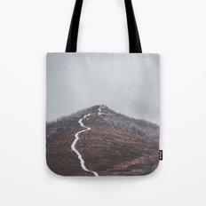 Clear path Tote Bag