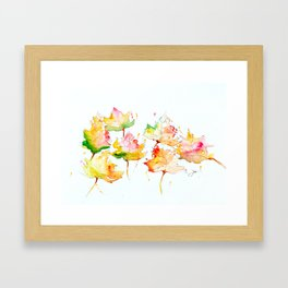 Leaves of Change Framed Art Print
