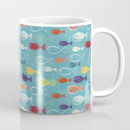 Fish poissons 100 Coffee Mug