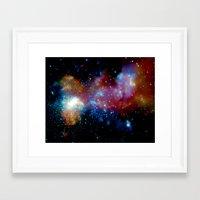 milky way Framed Art Prints featuring Milky Way by Upperleft Studios