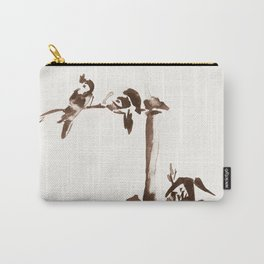 Japanese Birds Carry-All Pouch