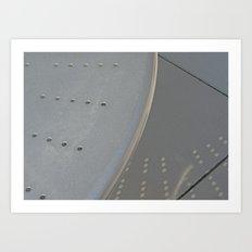 Steel Reflection  Art Print