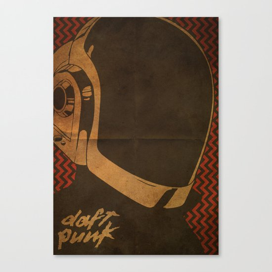 Daft Punk Guy-Manuel I Canvas Print