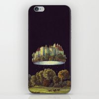 castle in the sky iPhone & iPod Skins featuring Castle by Matthias Leutwyler