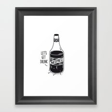 Pure awesomness Framed Art Print