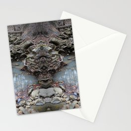 Mirrored Riverbed Stationery Cards