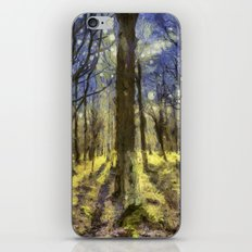 Peaceful Forest Van Gogh iPhone & iPod Skin