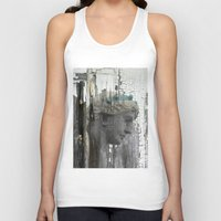 grace Tank Tops featuring Grace by The Strange Days Of Gothicrow