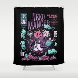Nekomancer Shower Curtain